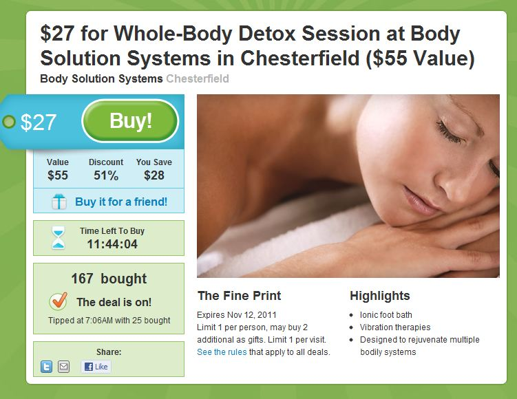 Groupon Example
