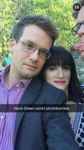 John Green on Snapchat