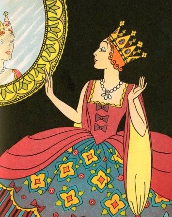 Bess Livings' illustration for Snow White