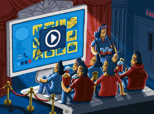 youtube video illustration