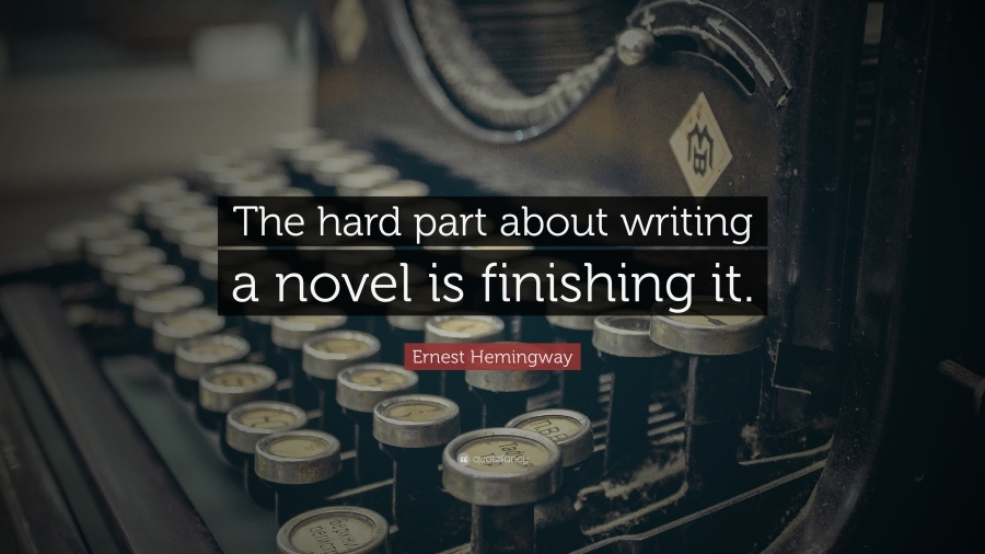 writing is hard ernest hemingway