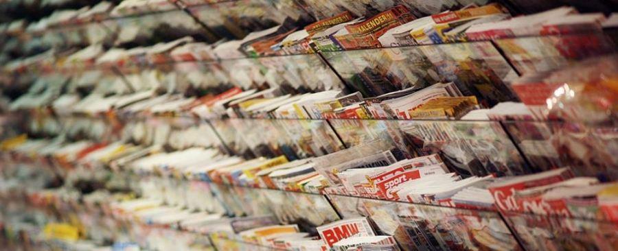 magazine magazines rack
