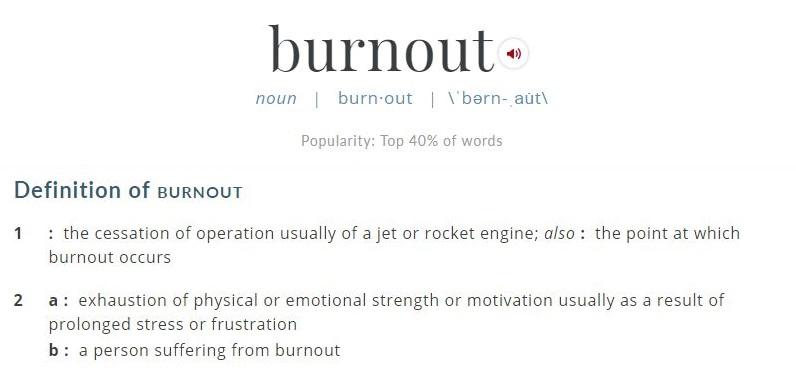 burnout definition