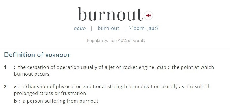 burnout definition