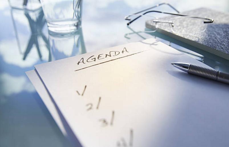schedule scheduling agenda