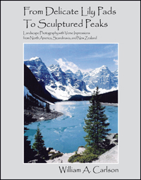 from delicate lily pads to sculptured peaks by william a carlson