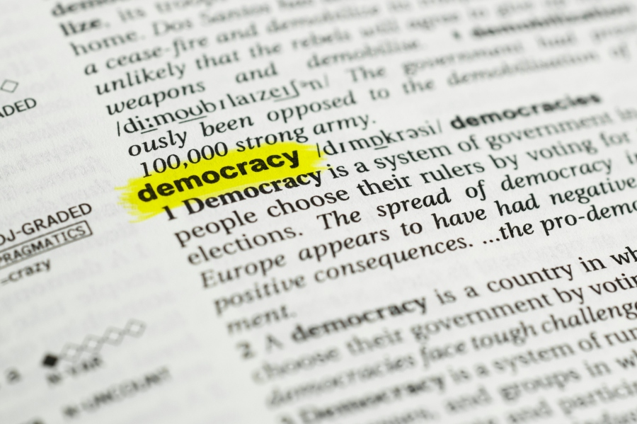 democracy definition