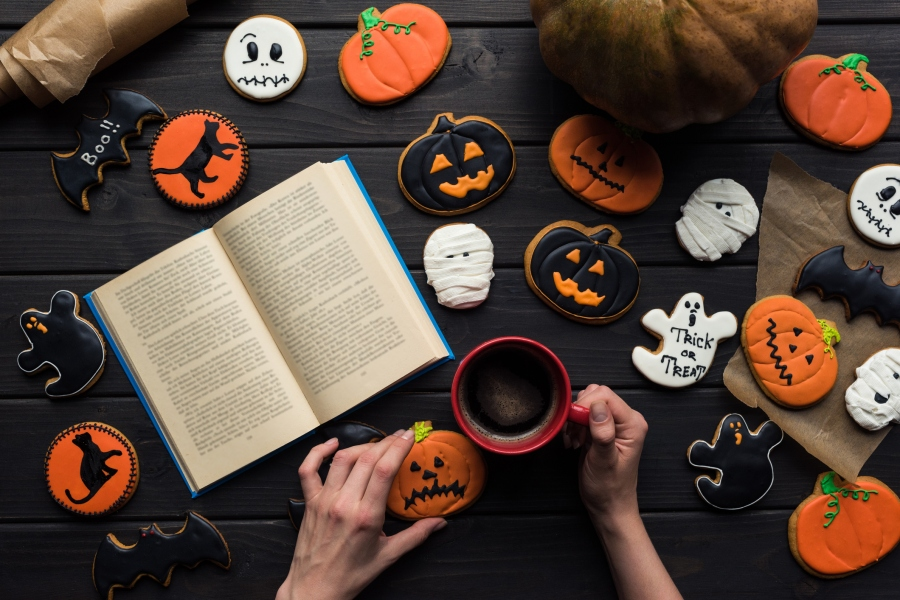 halloween holiday celebration cookies book
