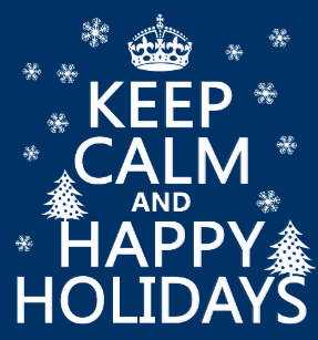 keep calm holidays