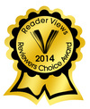 reader views reviwers choice award 2014