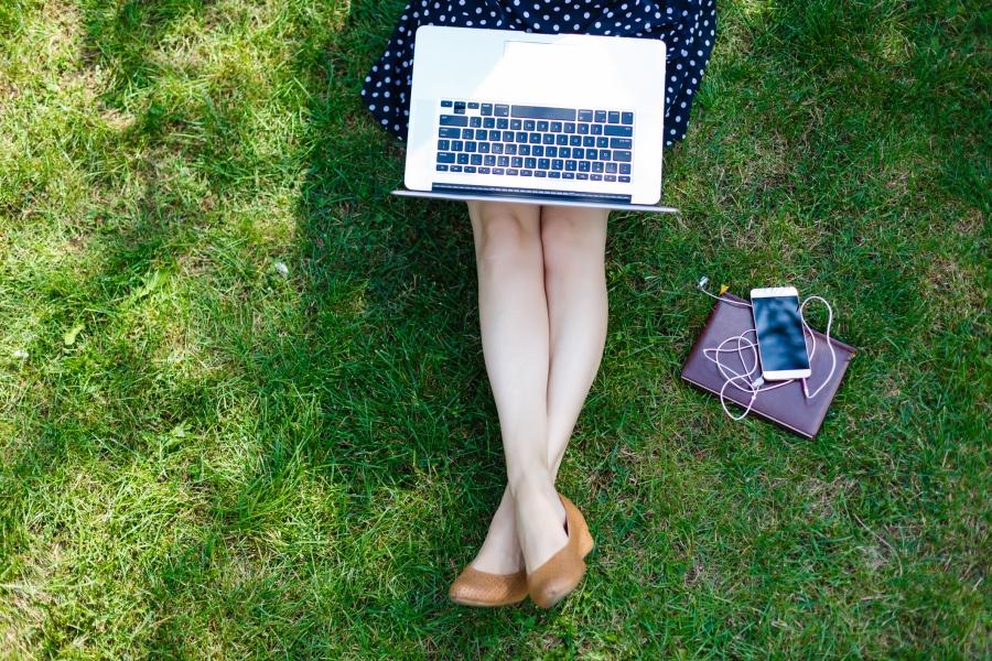 spring writing laptop