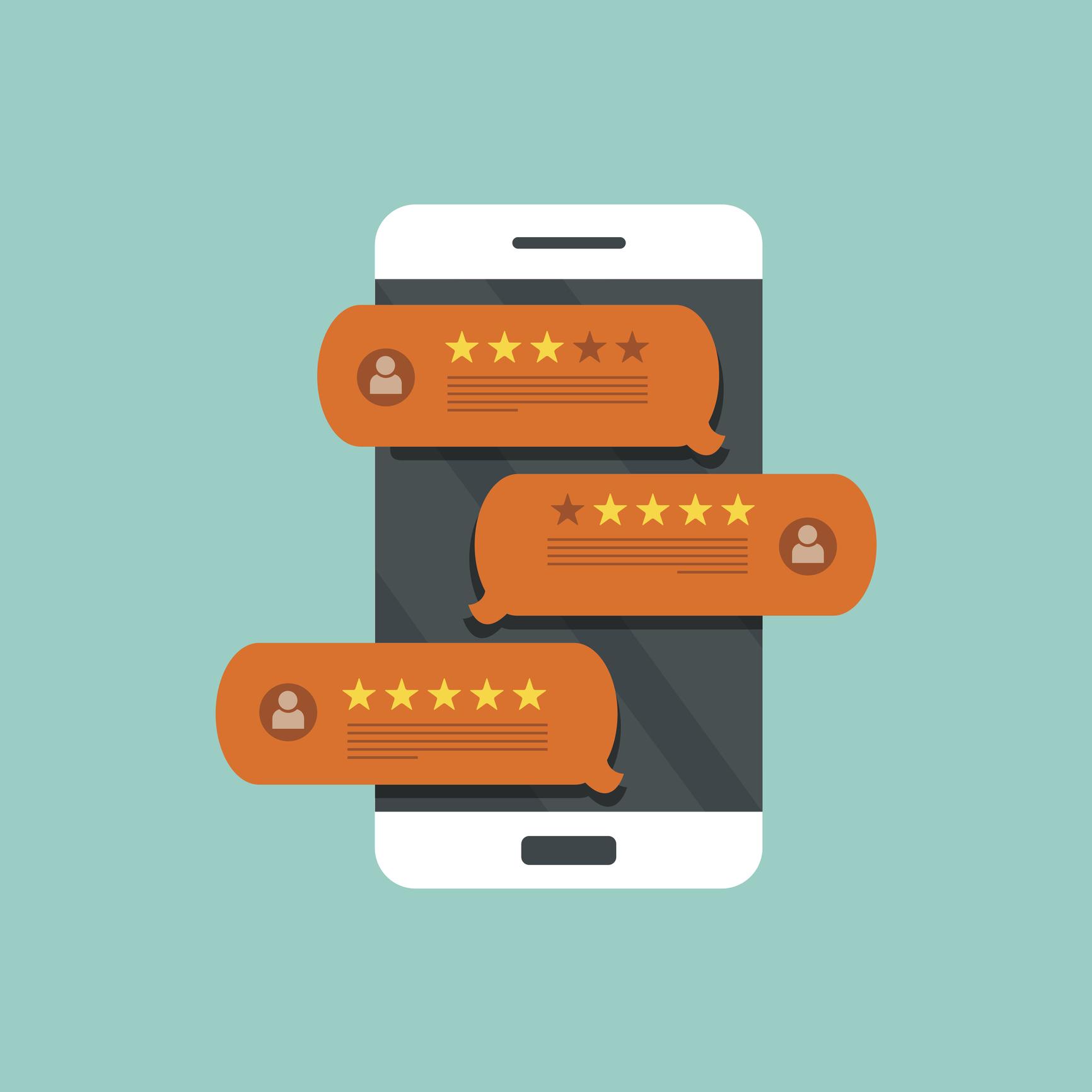 online sales rankings ratings reviews