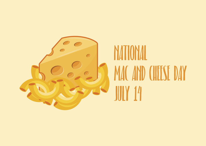 National Mac and Cheese Day - July 14